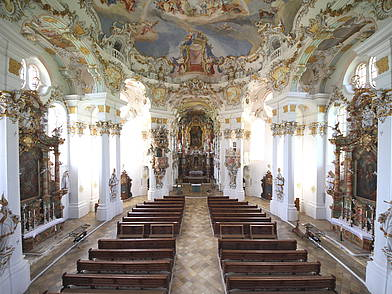 Barock Church Wieskirche