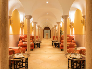 [Translate to English:] Oriental Hamam im Spa Hotel Schloss Elmau