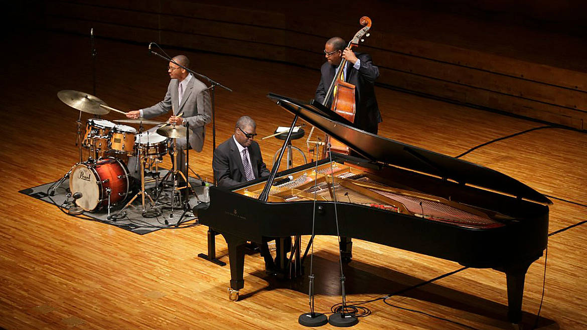 [Translate to English:] Marcus Roberts Trio