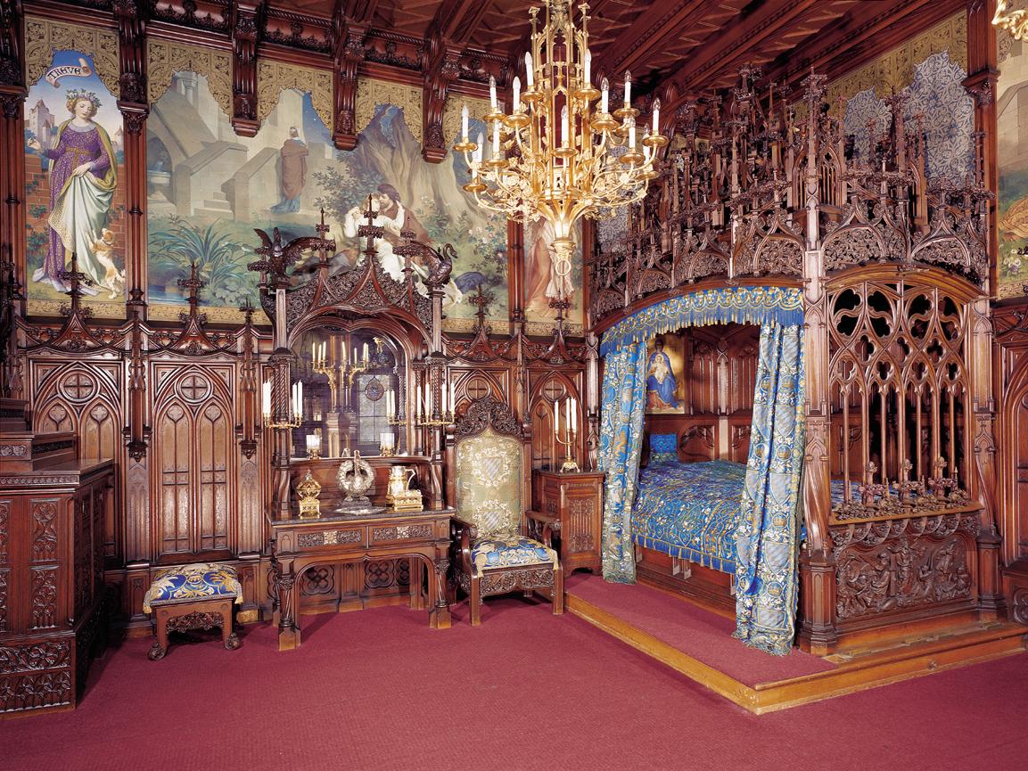 König Ludwig II. Schlösser  SCHLOSS ELMAU
