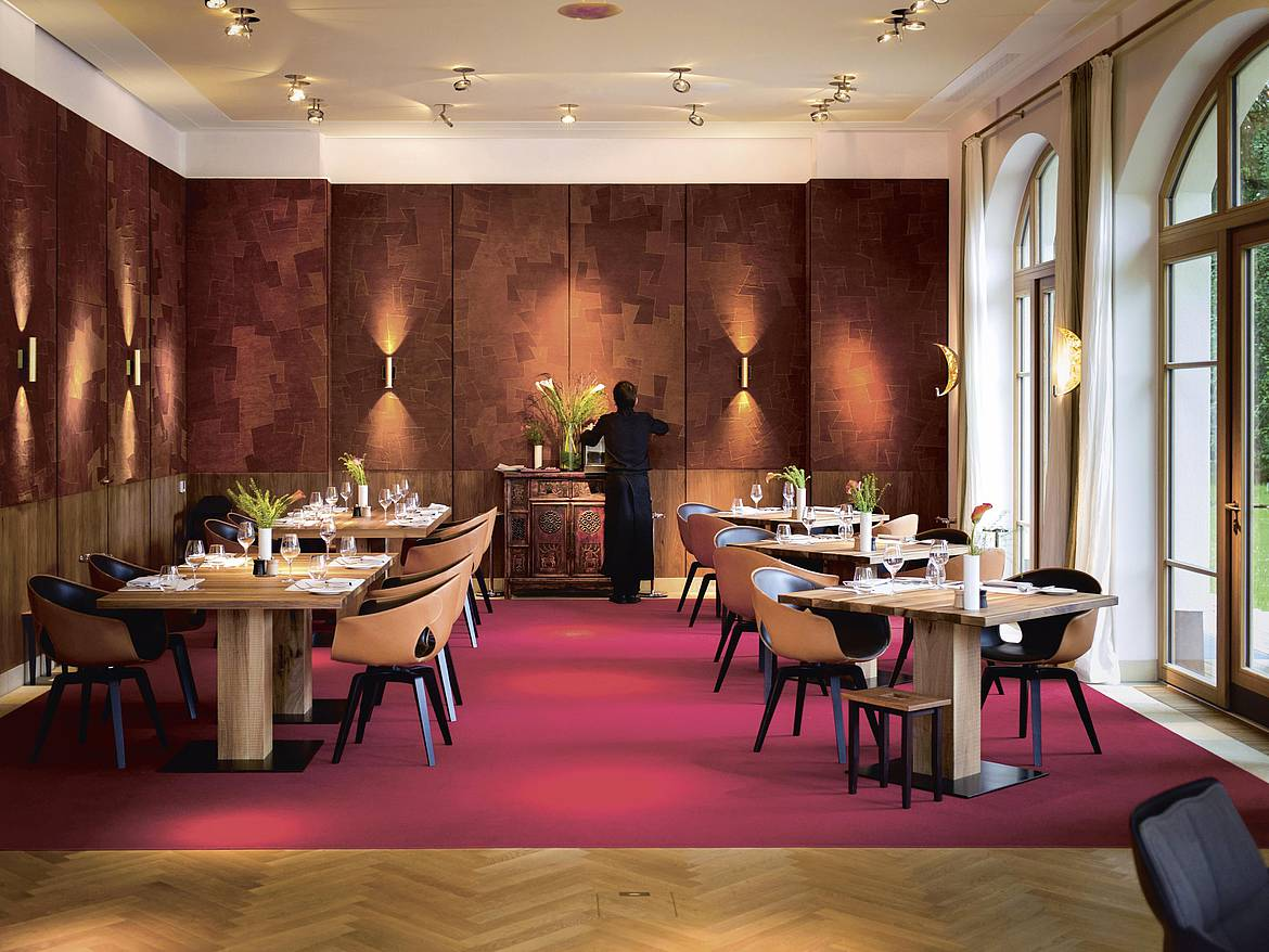 Restaurant Summit im Schloss Elmau Retreat
