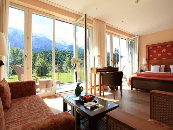 Luxury Suite im Schloss Elmau Luxury Spa & Cultural Hideaway
