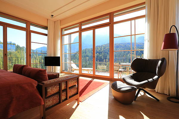 Luxury Suite im Schloss Elmau Retreat