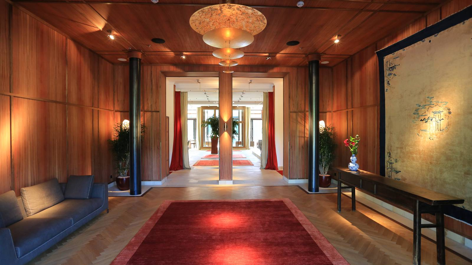 Lobby Schloss Elmau Retreat